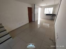 Cod. 3771 - Vende casa geminada bairro Cidade Nova, 03 quartos, 02 vagas, quintal