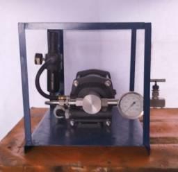 Bomba de teste hidrostático 8.000 PSi. Bombas Hidropneumática