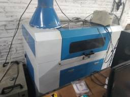 Máquina de corte e gravação a laser CO2  80w