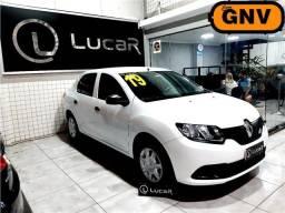 Título do anúncio: Renault Logan 1.0 Completo c/ GNV 2019 + Doc 2021 Vistoriado