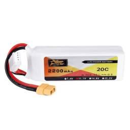 Bateria Lipo 3s 2200mah 20c Zop Power