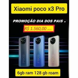 Xiaomi poco x3-pro - lacrado 90 dias de garantia