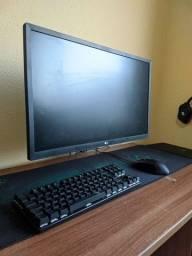 "Monitor LG 24"" 75hz 1080p ips novo"