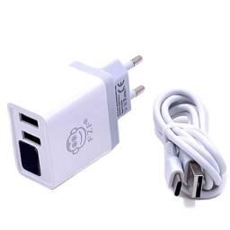 Carregador FZF Com Display Para Monitoramento de Voltagem e Amperagem - Entregamos