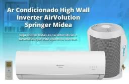 Ar Split Springer Midea Inverter 9000 BTUs + Nota + Garantia + Wi FI+ Aceito Cartão