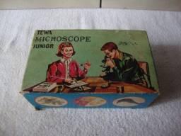 Microscópio antigo Towa modelo Junior