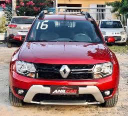 Renault Duster Dynamique 2.0 2016 Vermelho Automático Flex