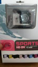 Mini Câmera Filmadora Sports Hd 1080p Aprov D'agua