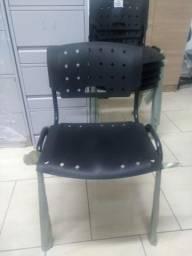 Cadeira escritório nova revenda pretas Promoção