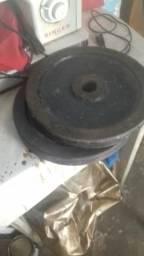 2 anilas d 10kg mas barra oca
