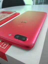 Oneplus 5t Lava Red Snapdragon 845, 8Gd Ram, 128Gb Armazenamento