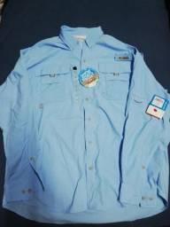 Columbia camisa pesca