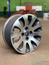 Jogo roda aro 15 original Citroen usado