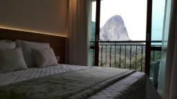 Apartamento tipo flat para temporada no Hotel Vista Azul - frente para Pedra Azul