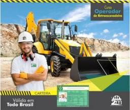 Curso de Operador de Retroescavadeira - Florianópolis