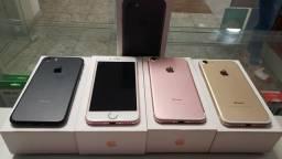 Vendo iphone 7 32gb semi novos 10x sem juros no cartão