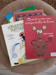 Kit com 4 livros infantis