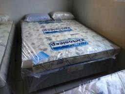 Mega mega promoção em cama box 12 cm.espuma