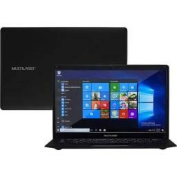 Notebook Legacy Quadcore Intel Atom Win10 2gb Ram 64gb Preto