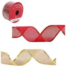 Fita aramada vermelha perfeita para o uso no natal