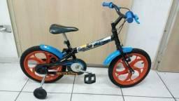 Bicicleta infantil hot Wheels aro 16 nova