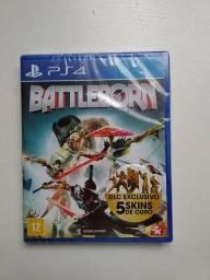 Battleborn (jogo lacrado) para PS4 + cabo carregador USB de controle