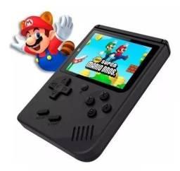Vídeo Game Portátil para Crianças ,Mini Game Sup Preto - 400 Jogos Internos