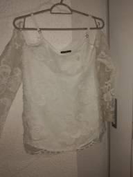 Blusa branca PERFEITA Réveillon