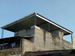 Cobertura Terraço Telhado Metálico Serralheria Serralheiro