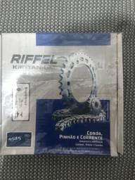 Kit relação riffel aço 1045 pop110