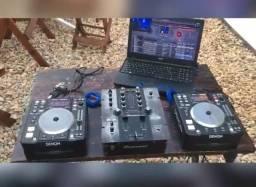 Vendo equipamento de dj