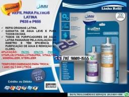 Refil Filtros Latina P635 e P655-Entrega e Troca Grátis