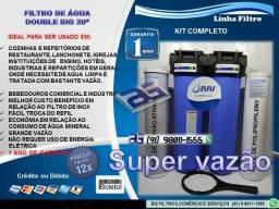 """Filtro Purificador de Água Double Big 20""""-Entrega e Instalação Grátis"""