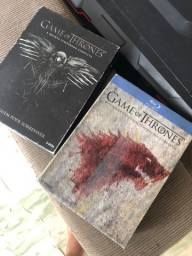 Blu-ray Game of thrones 1, 2 e 4 temporada