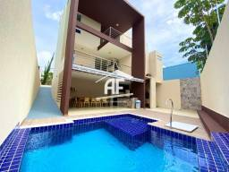 Casa com 4 suítes (1 máster com varanda) - Completo de móveis fixos - Confira