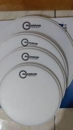 Kit peles Aquarian texture coated 10,12,14,16