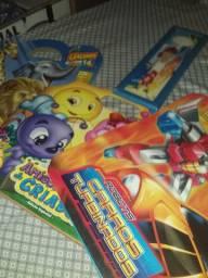 Coleção livros infantis para incentivo a leitura