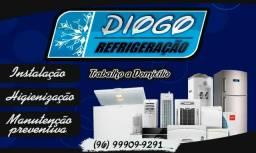 Diogo refrigeração Trabalho á domicílios
