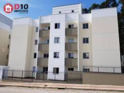 Apartamento com 2 dormitórios para alugar, 54 m² por R$ 570,00/mês - Coloninha - Araranguá