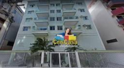 Apartamento com 1 dormitório para alugar, 70 m² por R$ 1.530,00/mês - Centro - Cabo Frio/R