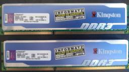 Memoria (PC) 4gb DDR3 HyperX Blu Kingston