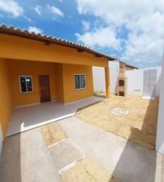 Casas Novas, Pedras Messejana, 3 Qtos, 6m X 25m, Churrasqueira, Chuveirão e 2 Vagas