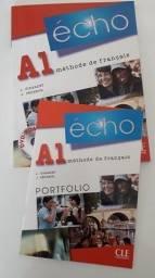 Echo A1 - Livre D´eleve + Dvd-rom - Curso Francês