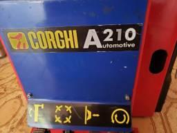 Desmontadora Corghi A210 com braço auxiliar SP3000