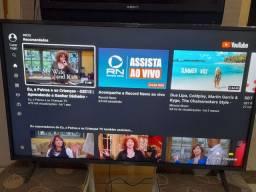 Vendo TV LG 43 smart full HD semi nova valor 1800 reais