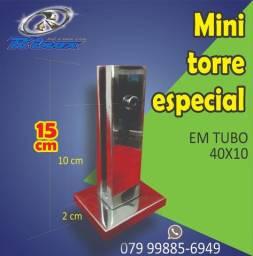 Torre Inox de 15 cm