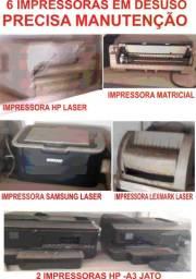 6 Impressoras Paradas