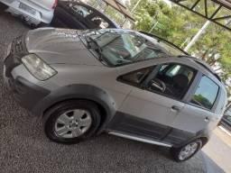 Fiat- idea adventure flex 2008/2008 prata