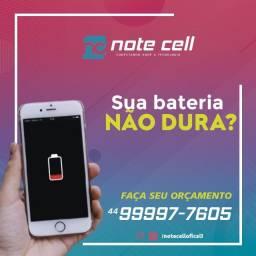 Troca de bateria do seu aparelho - Faça seu orçamento - Note cell