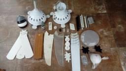 21 motores de ventiladores de teto com peças avulsas
